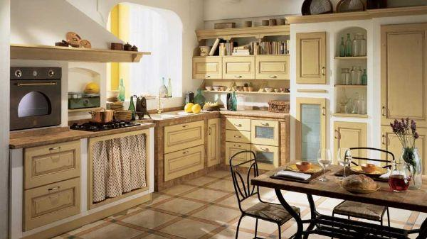 Cucine classiche: modello Belvedere di Scavolini