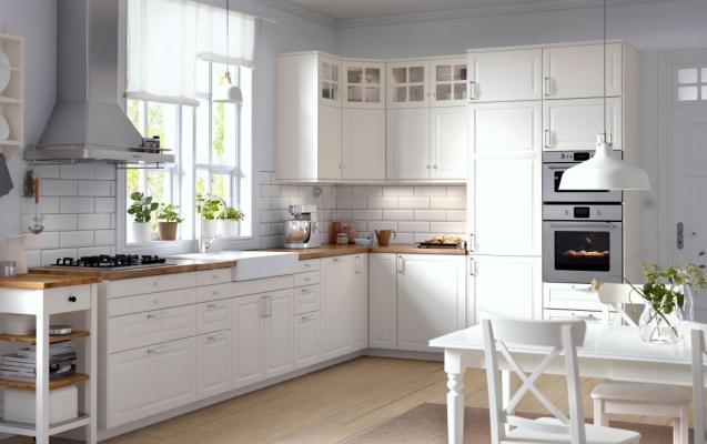 Cucina classica Bodbyn di Ikea