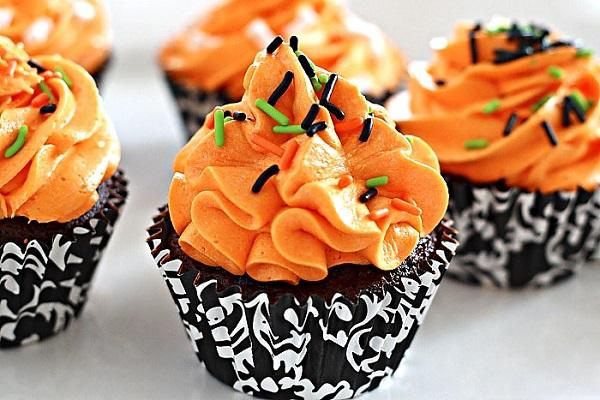 Cupcakes arancio