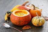 Zucca di Halloween trasformata in zuppiera