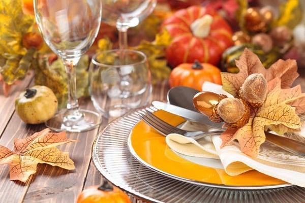 Zucche di Halloween in tavola