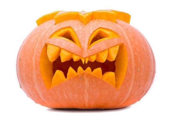 Zucche come centrotavola per halloween for Immagini zucca di halloween