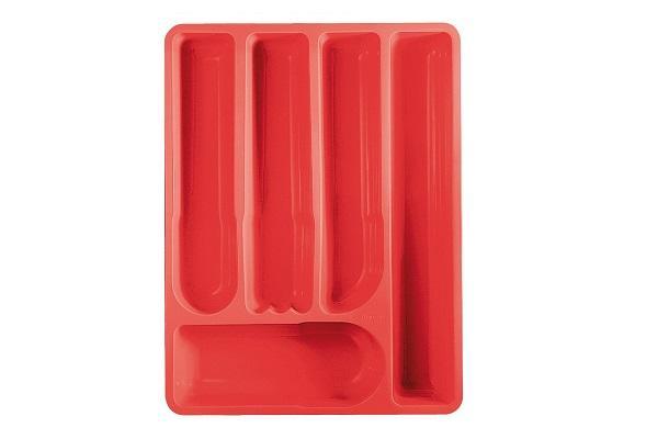 Portaposate da cassetto La Tina rosso di Guzzini