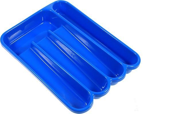 Portaposate da cassetto Le Forme azzurro di Guzzini