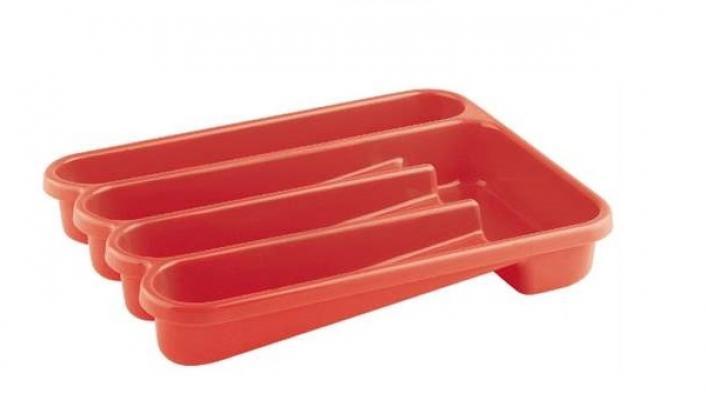 Portaposate da cassetto Le Forme rosso Guzzini