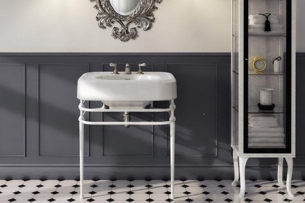 Mobili bagno stile vintage