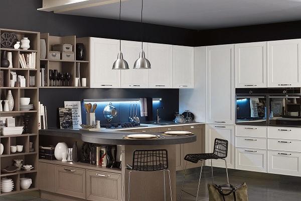 Cucina contemporanea Maxim di Stosa