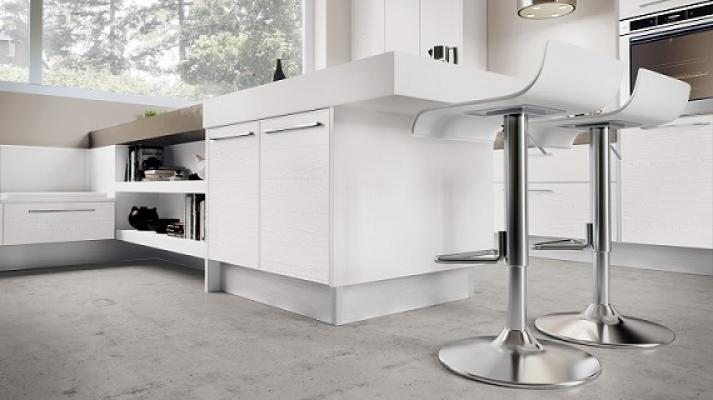 Cucine contemporanee Adele Project di Lube tavolo