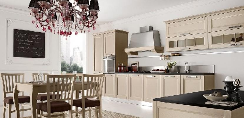 Cucine contemporanee Beverly di Stosa in beige