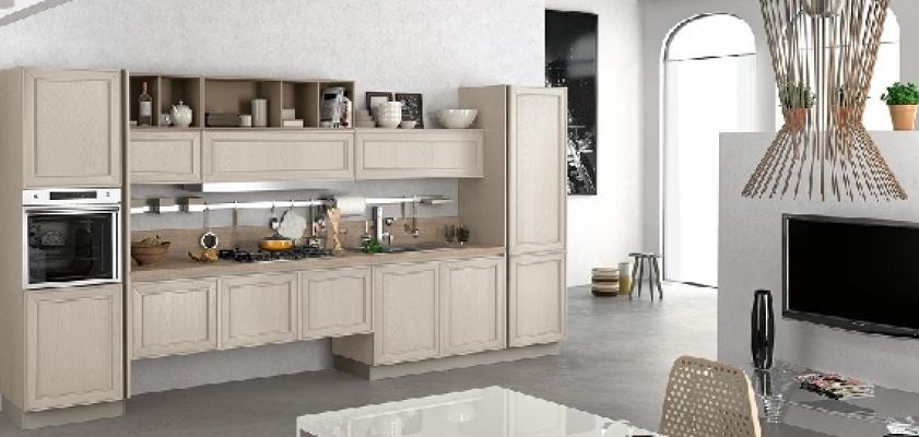 Cucine contemporanee Maxim di Stosa in beige