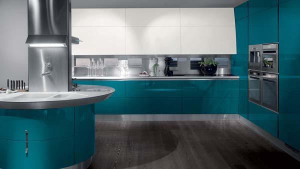 Cucina moderna Flux di Giugiaro Design - Scavolini