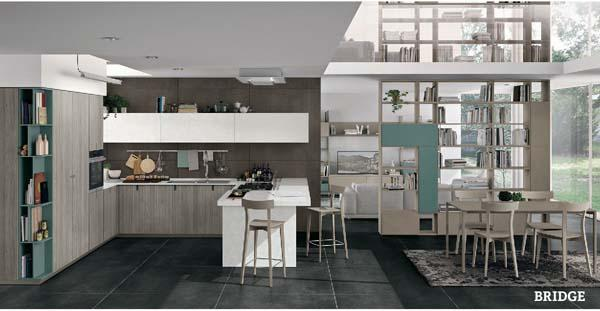 Cucine Lube moderne Bridge