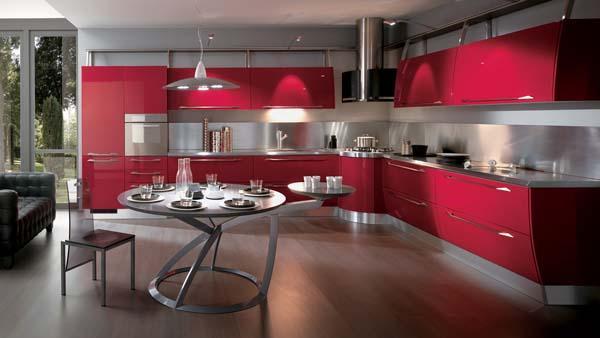 Cucina moderna Flux, Scavolini