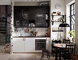 Cucina moderna piccola di IKEA
