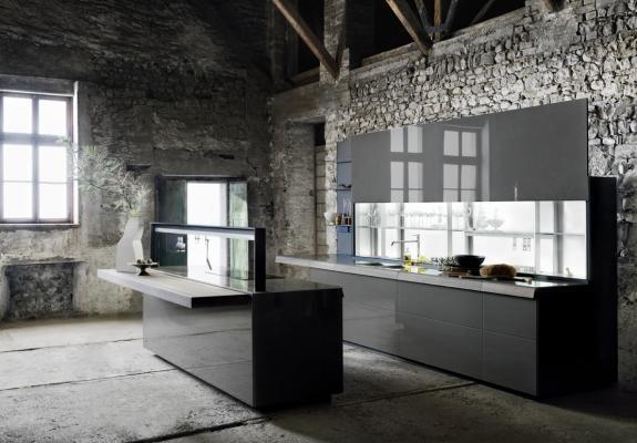 Cucina moderna Genius loci di Valcucine