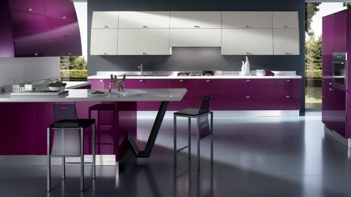 Cucina moderna Flux by Scavolini
