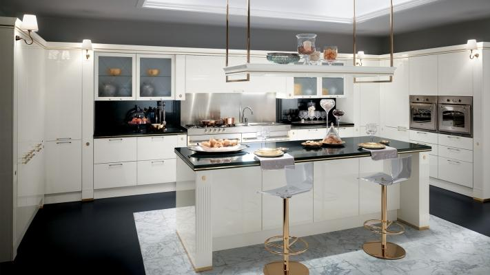 Cucina moderna Baccarat- Scavolini