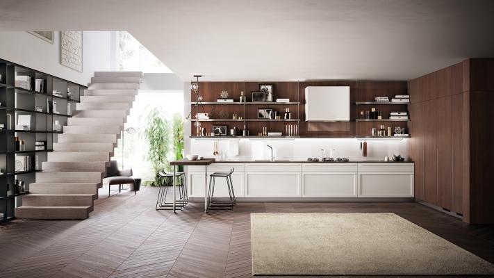 Cucina moderna a vista Scavolini