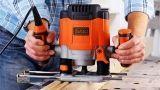 Fresatrice elettrica per sagomare il legno e i metalli