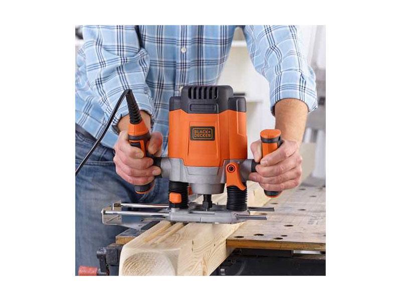 Fresatrice manuale per legno BLACK+DECKER