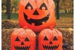 Sacchi di plastica a forma di zucca di Halloween su Amazon