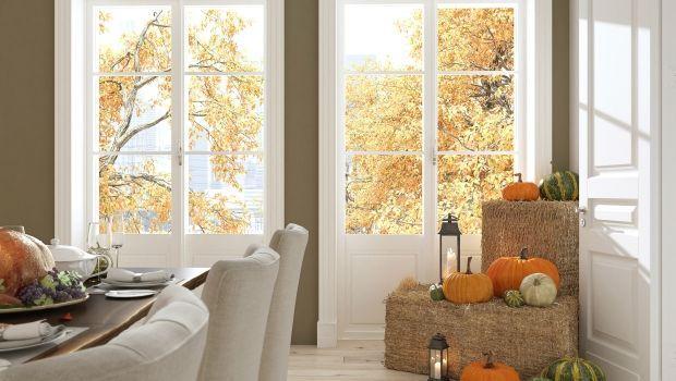 Per Halloween una casa da brivido con decorazioni originali