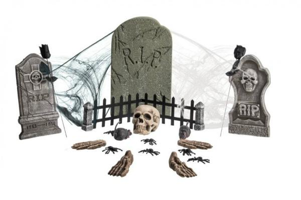 Decorazioni Halloween cimitero by FestaShop