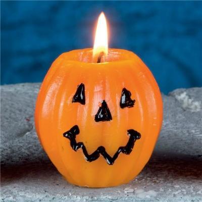 Decorazioni Halloween candele zucca di Feste Mix