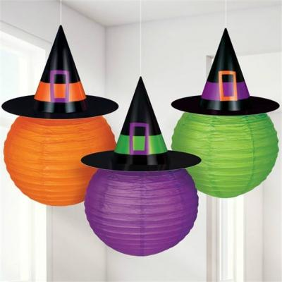 Decorazioni Halloween lanterne strega di Party City
