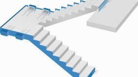 Isolamento acustico delle scale