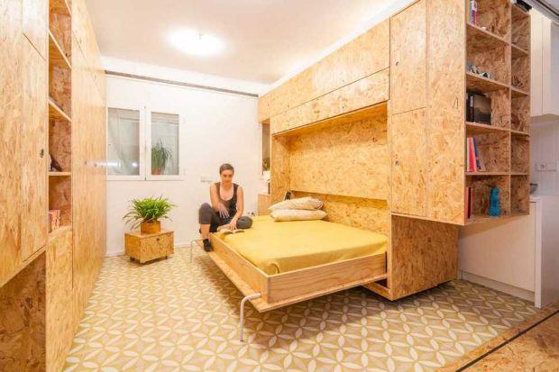 Appartamento con pannelli osb di Cositas Decorativas