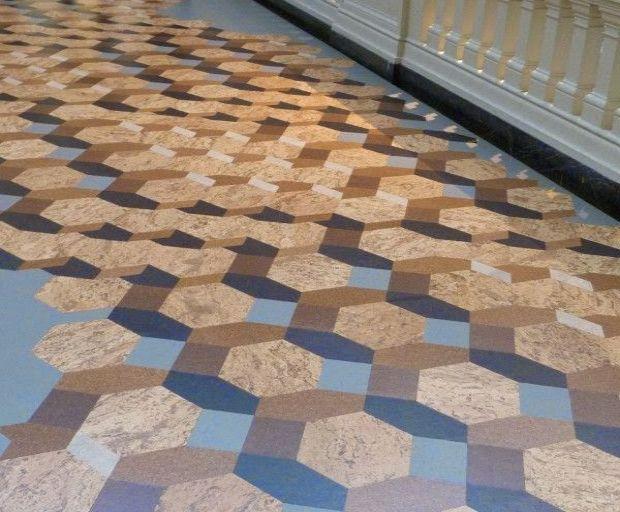 Pavimento con pannelli osb di Cositas Decorativas