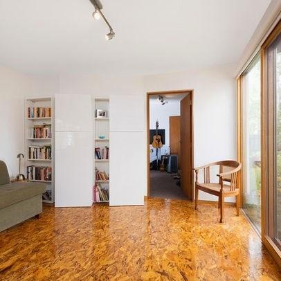 Pavimento in legno Osb di Cositas Decorativas
