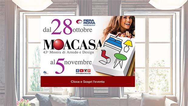 Moacasa la fiera romana dell 39 arredamento d 39 interni - Moacasa 2017 roma ...