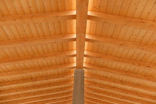 Copertura legno di Spazio Legno Lamellare