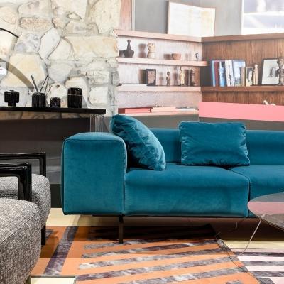 Arredamento in autunno: divano Largo by Kartell