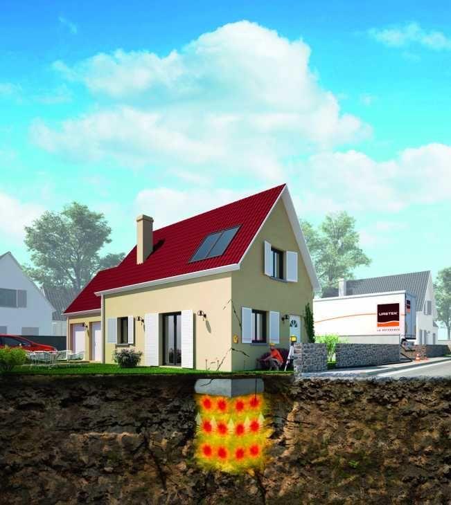Soluzione cedimento fondazione di Uretek