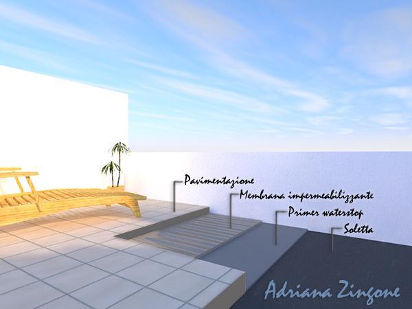 Impermeabilizzazione balconi senza guaina