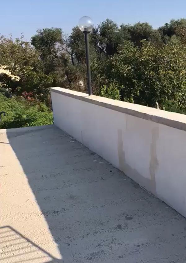 Impermeabilizzazione terrazzo massetto Enkos srl