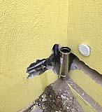 Traccia muro canne fumarie esterne