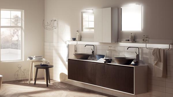 Lavabo bagno Rivo variante Scavolini