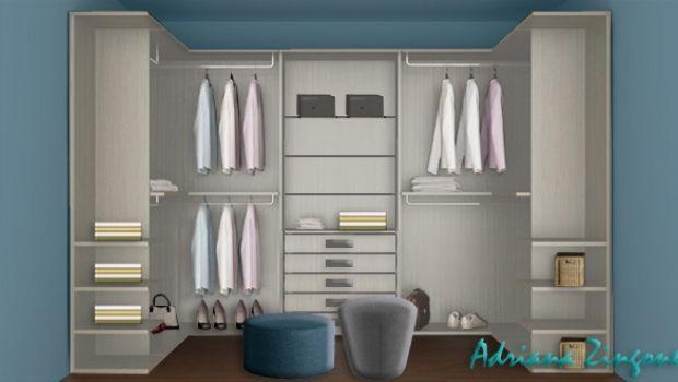 Come progettare una cabina armadio anche in spazi minimi