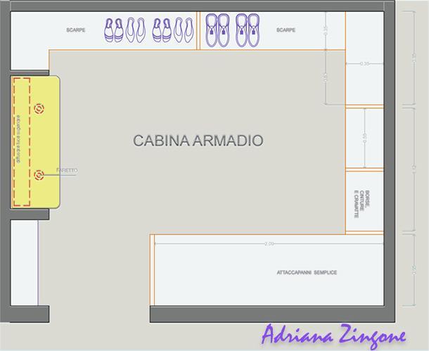 Cabina armadio in spazi minimi for Misure cabina armadio