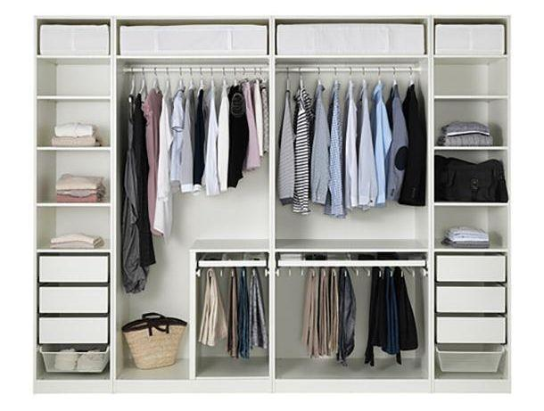 Guardaroba bianco by Ikea