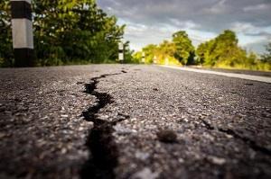 Terremoto in strada