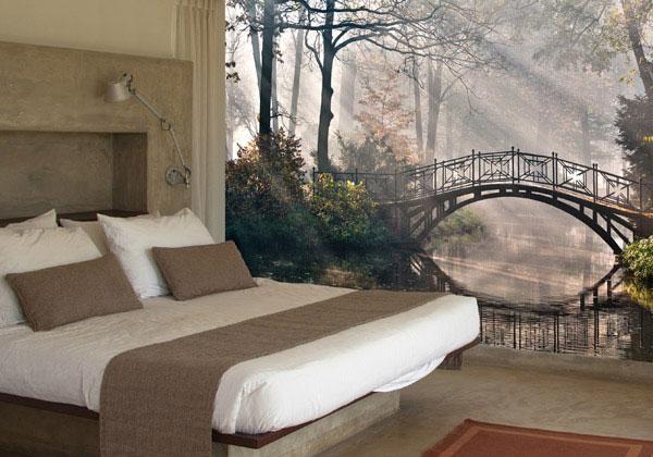 Carta da parati classica per camere da letto, by StickersMurali
