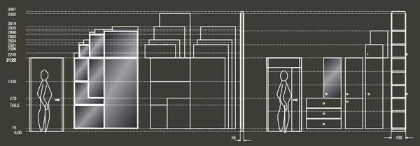 Armadi per ufficio modulari by Archiutti