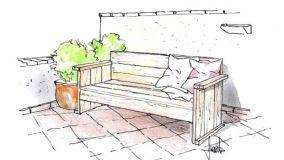 Costruire una versatile panca di legno in fai da te