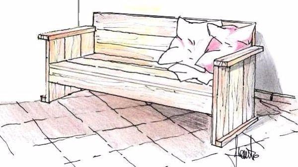 Costruire una panca in legno in fai da te