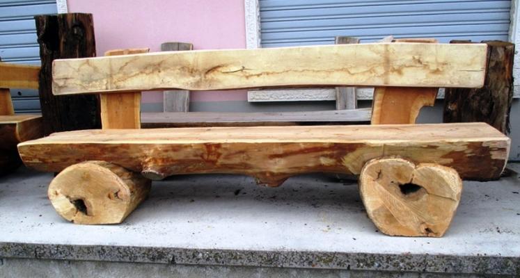 Assi Di Legno Rustiche : Panca in legno fai da te